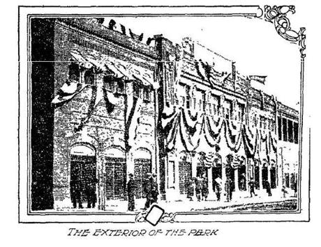 This illustration of Fenway Park ran in the Boston Globe on May 18, 1912, after the park's formal opening.